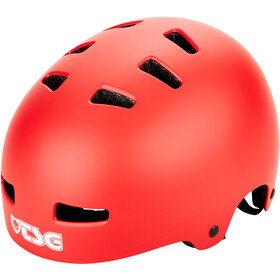 TSG Evolution Solid Color Helmet satin sonic red